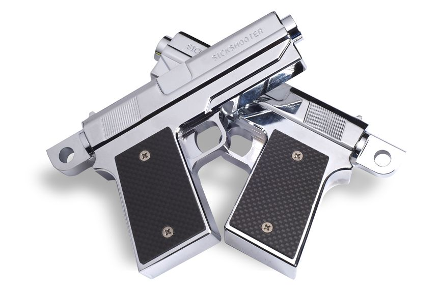 45 Caliber Pistol Foot Pegs 45 Caliber Pistol Harley Davidson