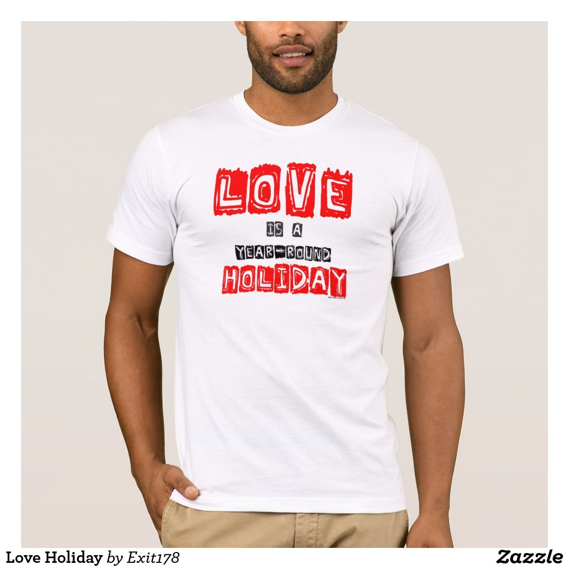 Love Quotes Clothing Love Holiday Tshirt