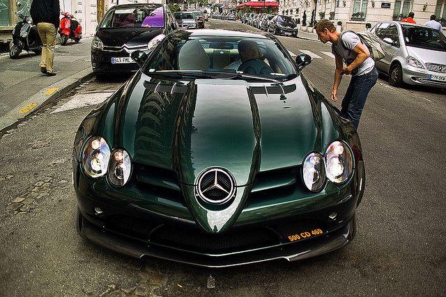 Mercedes-Benz SLR Mclaren 722 Edition (Green)
