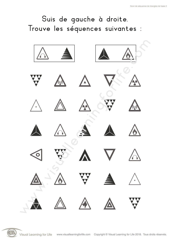 Suivi De Sequence De Triangles De Base Learning For Life Visual Learning Figure Ground Perception [ 1500 x 1061 Pixel ]