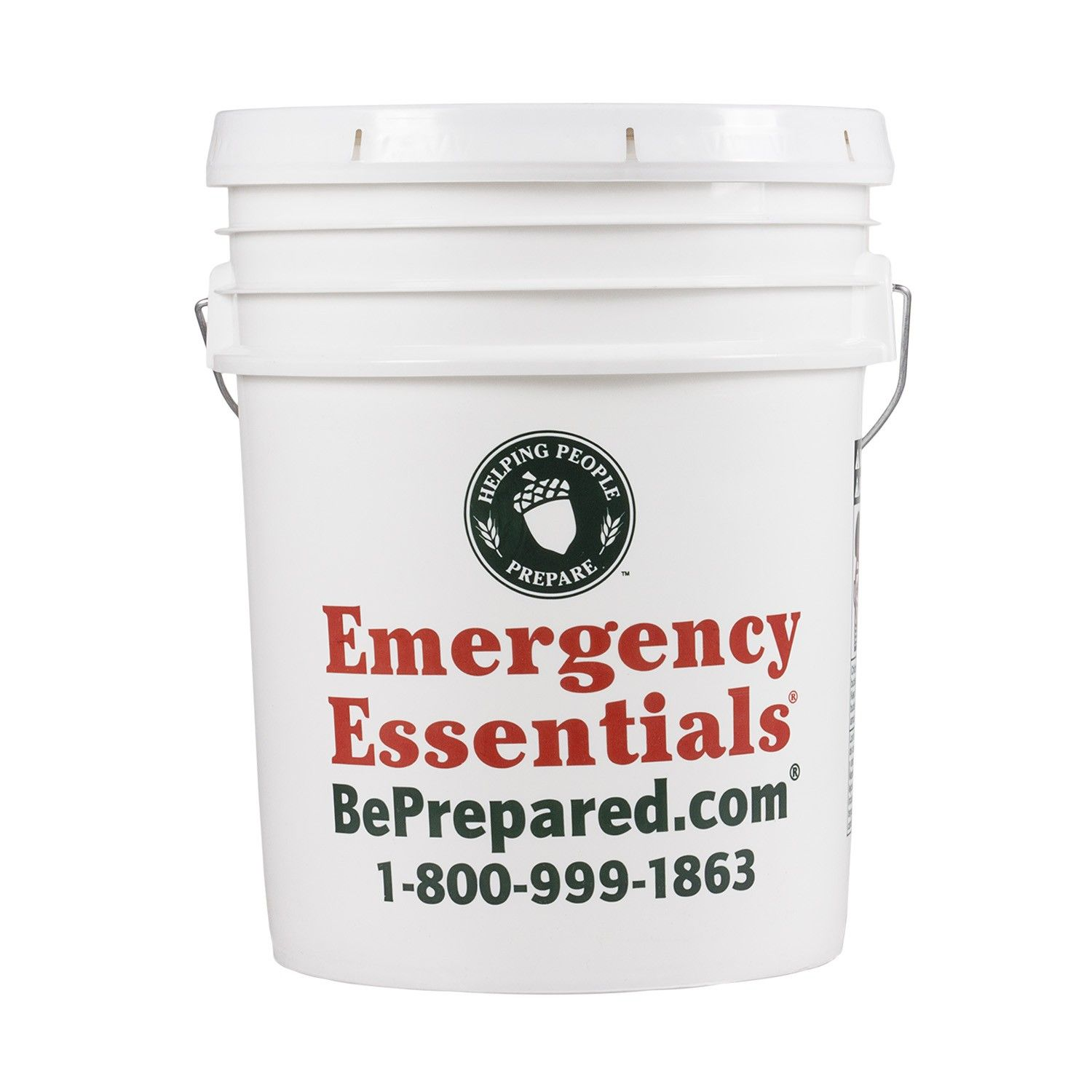 5 Gallon Bucket With Lid Emergency Essentials Food Storage Containers Food Grade Buckets