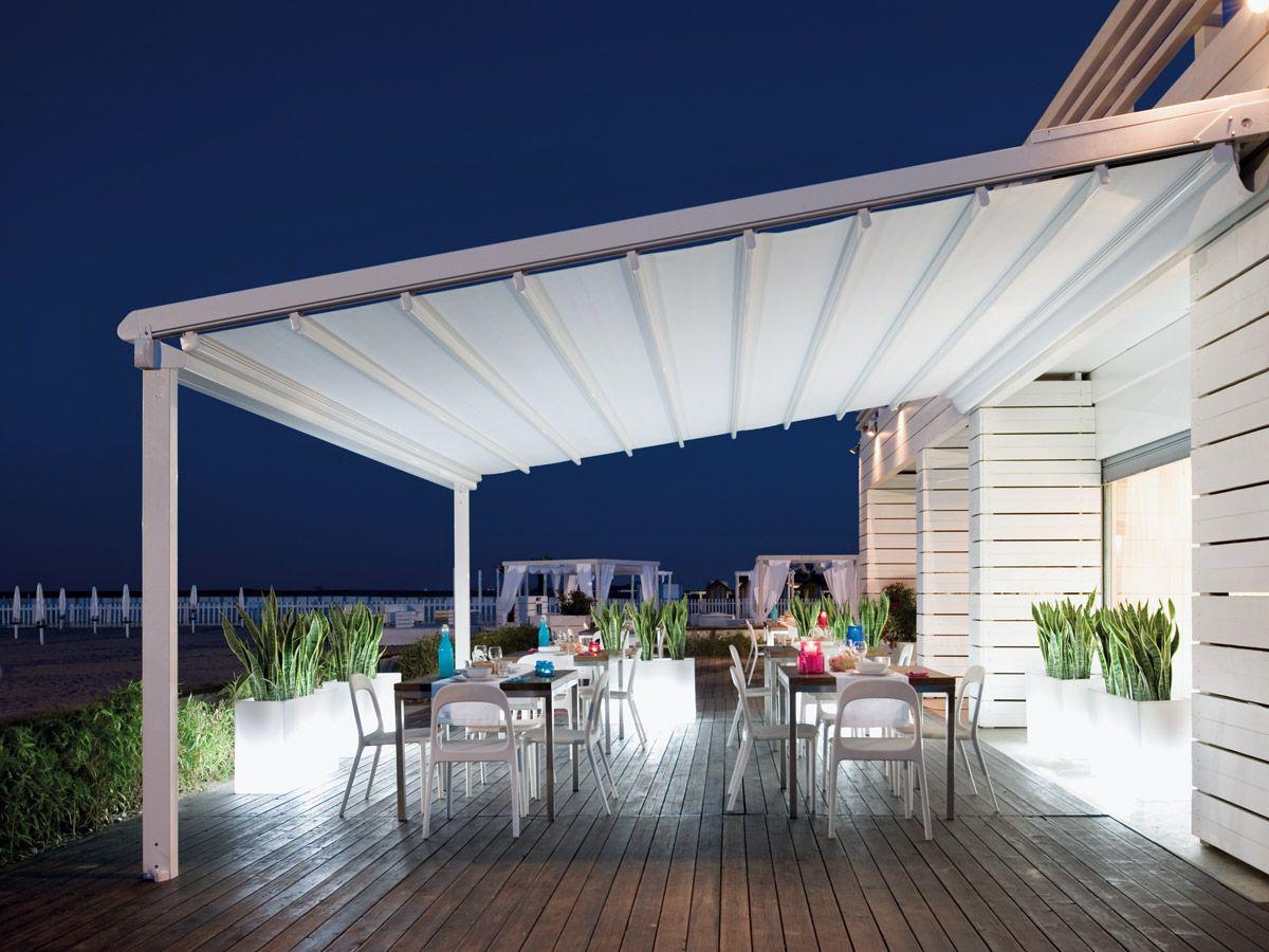 Pergola restaurant cannes velums restaurant avignon - Table de jardin new york toulon ...