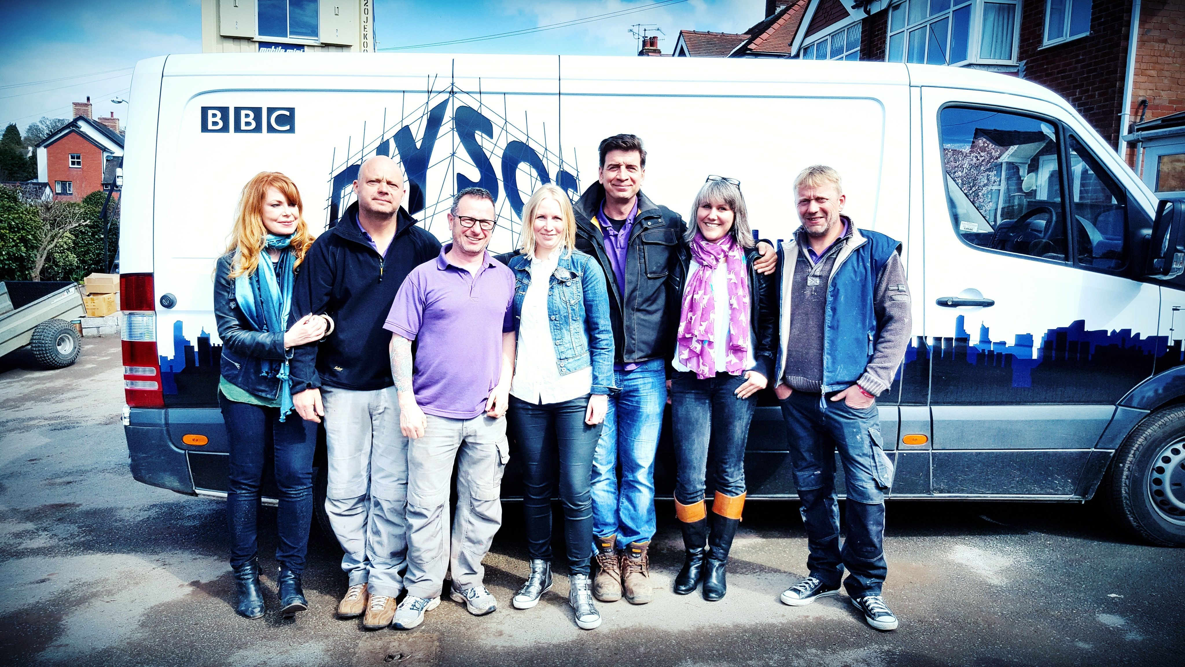 Team Dotty And Diysos Build From Left To Right As If You Didn T Know Gabrielle Blackman Julian Perryman Mark Millar Jen Swales