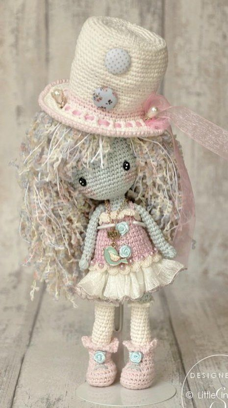 Awesome and Cute Amigurumi Free Crochet Doll Ideas and Images - Page 11 of 37 #crochetdoll