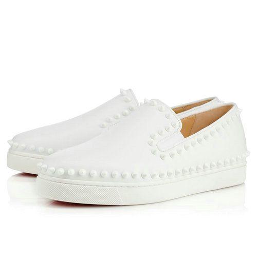 Pik Boat Women s Flat - Red Bottom Christian Louboutin Shoes ... 7058f9e4d3