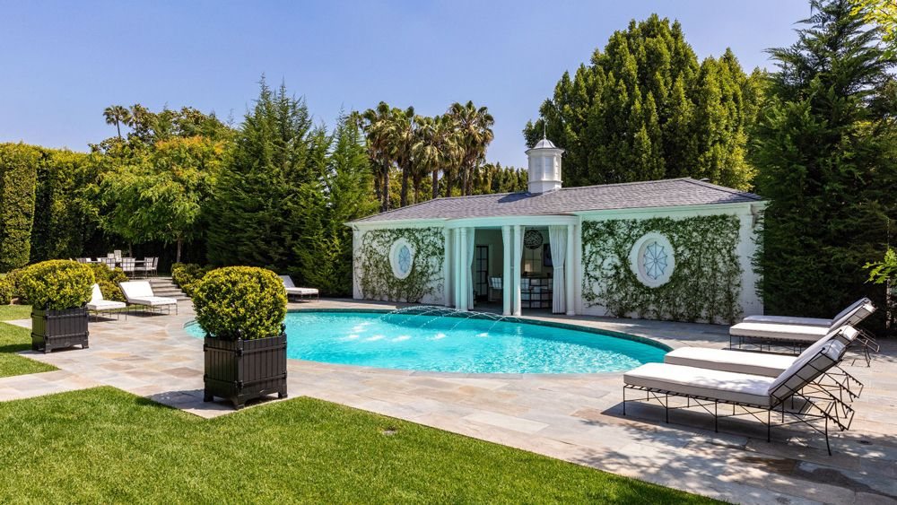 In Pictures The Rutherford House in Beverly Hills
