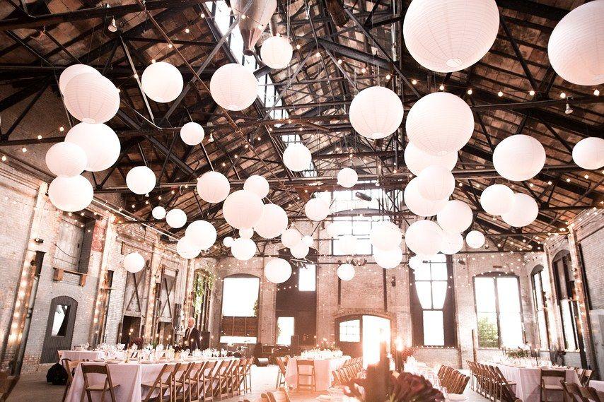 A Modern Warehouse Wedding in Upstate New York Warehouse