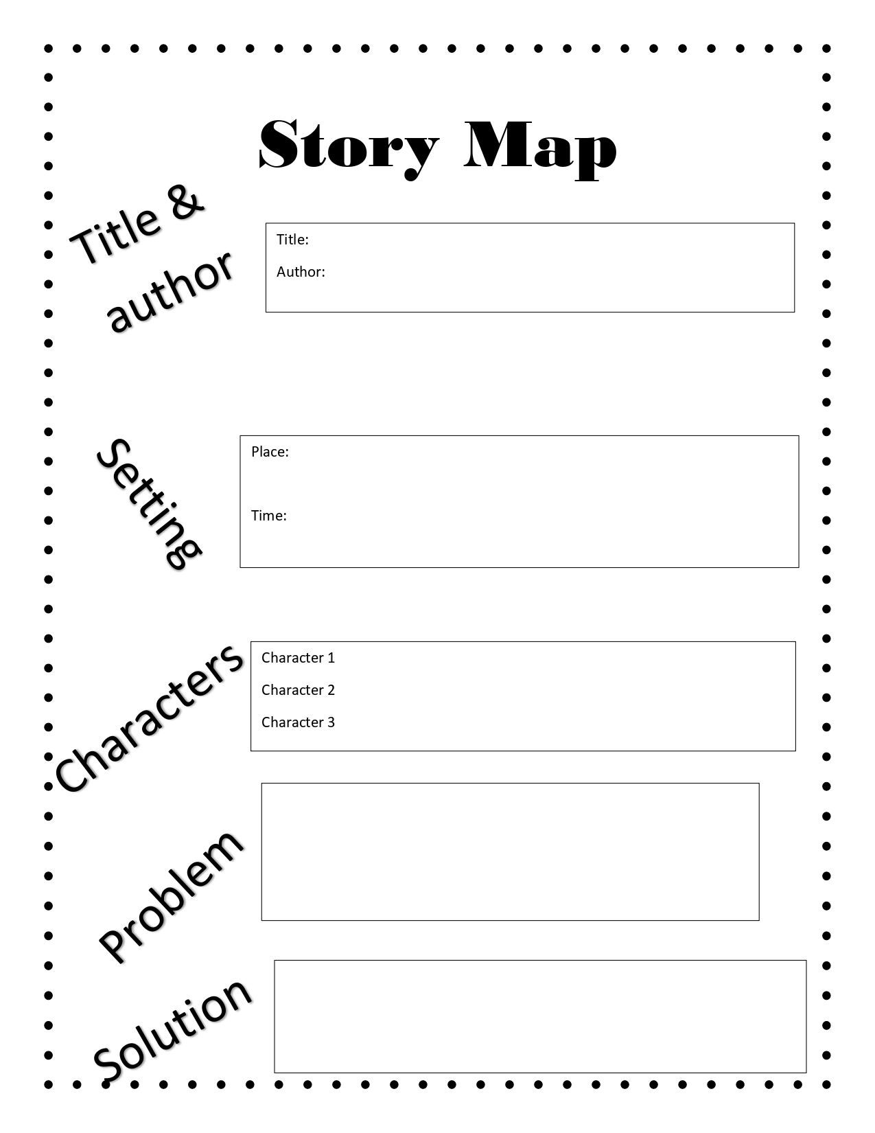 Role Map Worksheet   Printable Worksheets and Activities for Teachers [ 1650 x 1275 Pixel ]