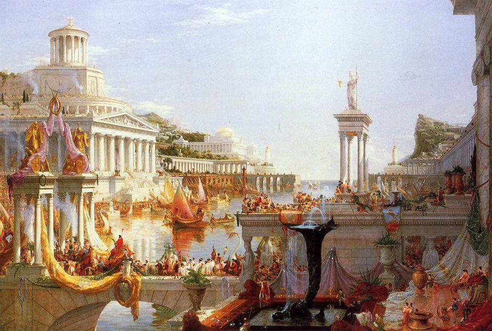 Thomas Cole: The Consummation of Empire, 1836