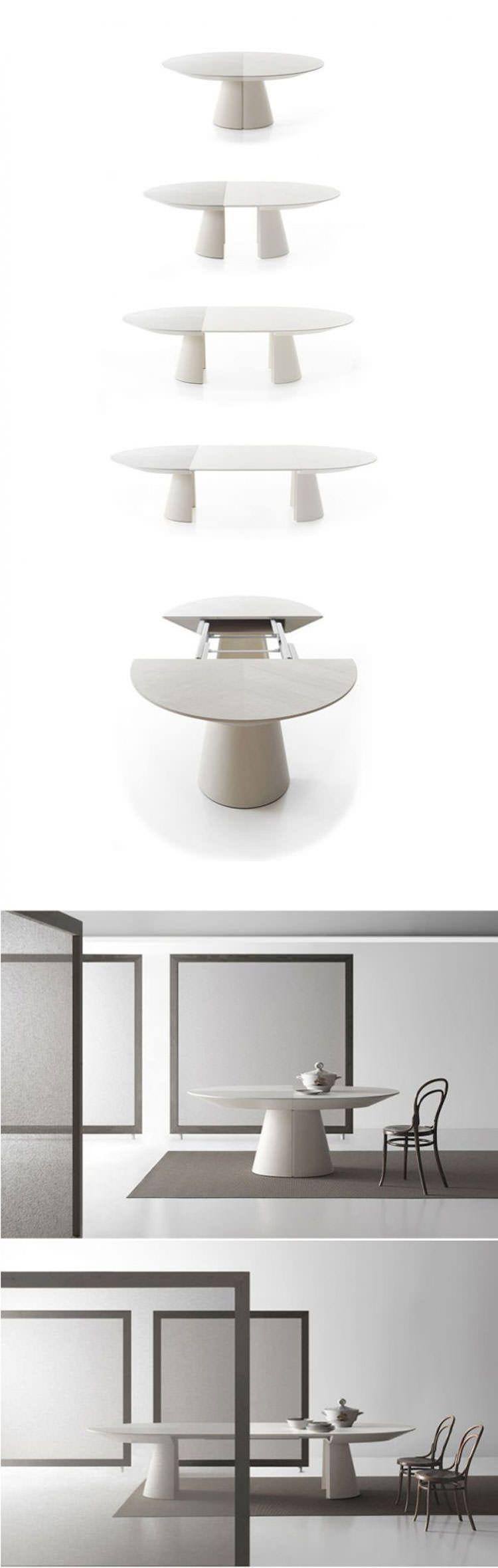 Dimensioni Tavolo Pranzo 12 Persone 35 tavoli allungabili moderni dal design particolare