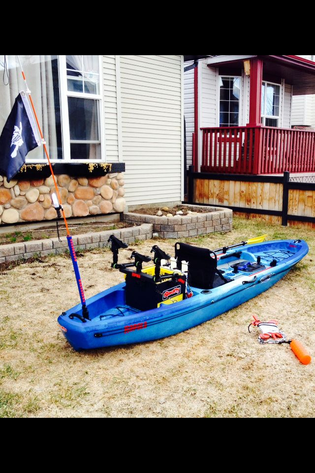 My Ascend FS12T with my kayak fishing crate  | Kayaks | Best fishing