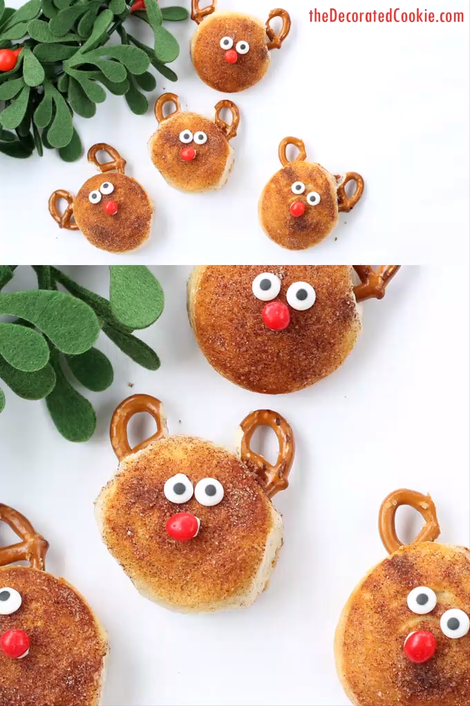 Rudolph biscuits -   23 xmas food videos christmas dinners ideas