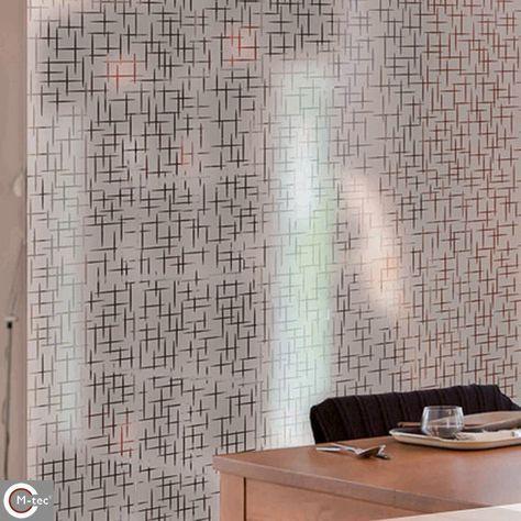Folie für Fenster - einfaches Anbringen an Glasscheiben - Montage