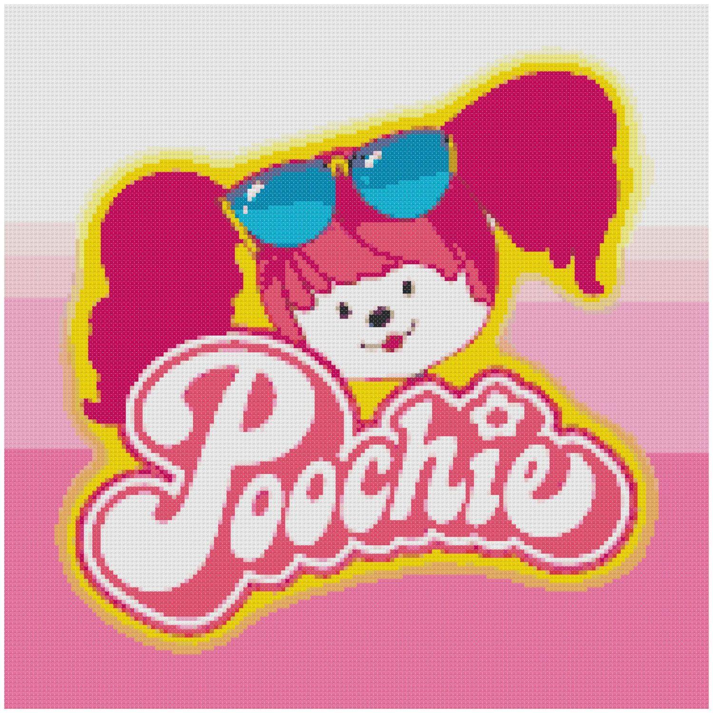 Cross Stitch Pattern 80S Retro Poochie Pdf By Sunshineyday0630