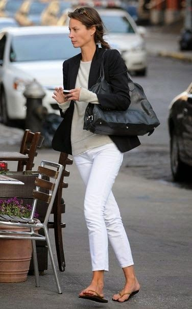 63ddf03894b9d Making White Jeans Elegant via Northern California Style blog ...