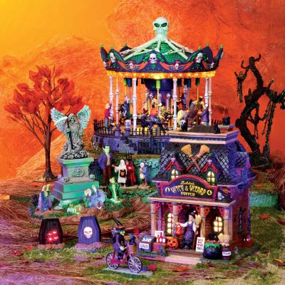 Nathaniel is pretty excited about this year\u0027s Spooky Town He wants - michaels halloween decorations
