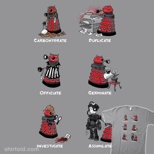 Busy Little Dalek #Dalek   #DoctorWho