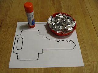 Letter k k is for key kids learning pinterest for Letter k crafts for toddlers