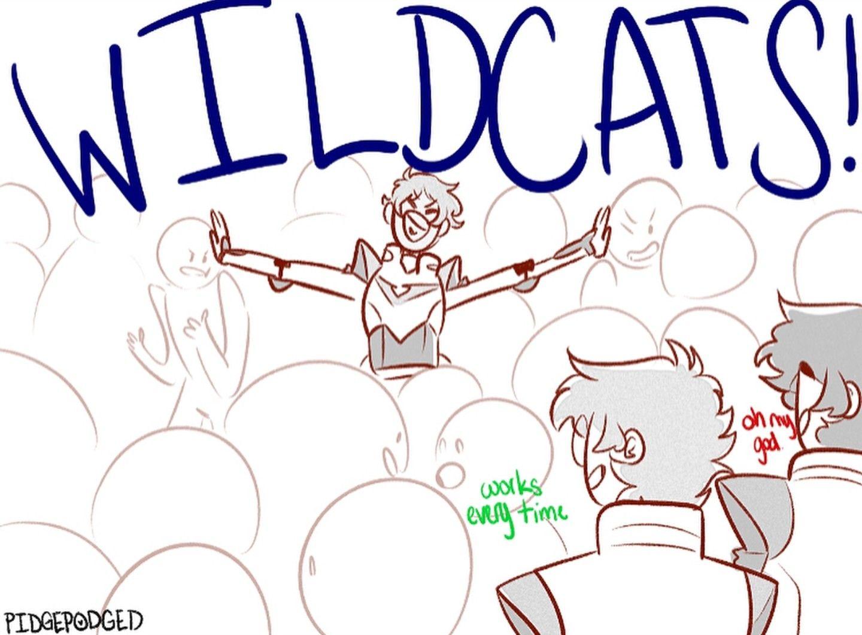 WILDCATS! 4/4 Voltron funny, Voltron klance, Voltron
