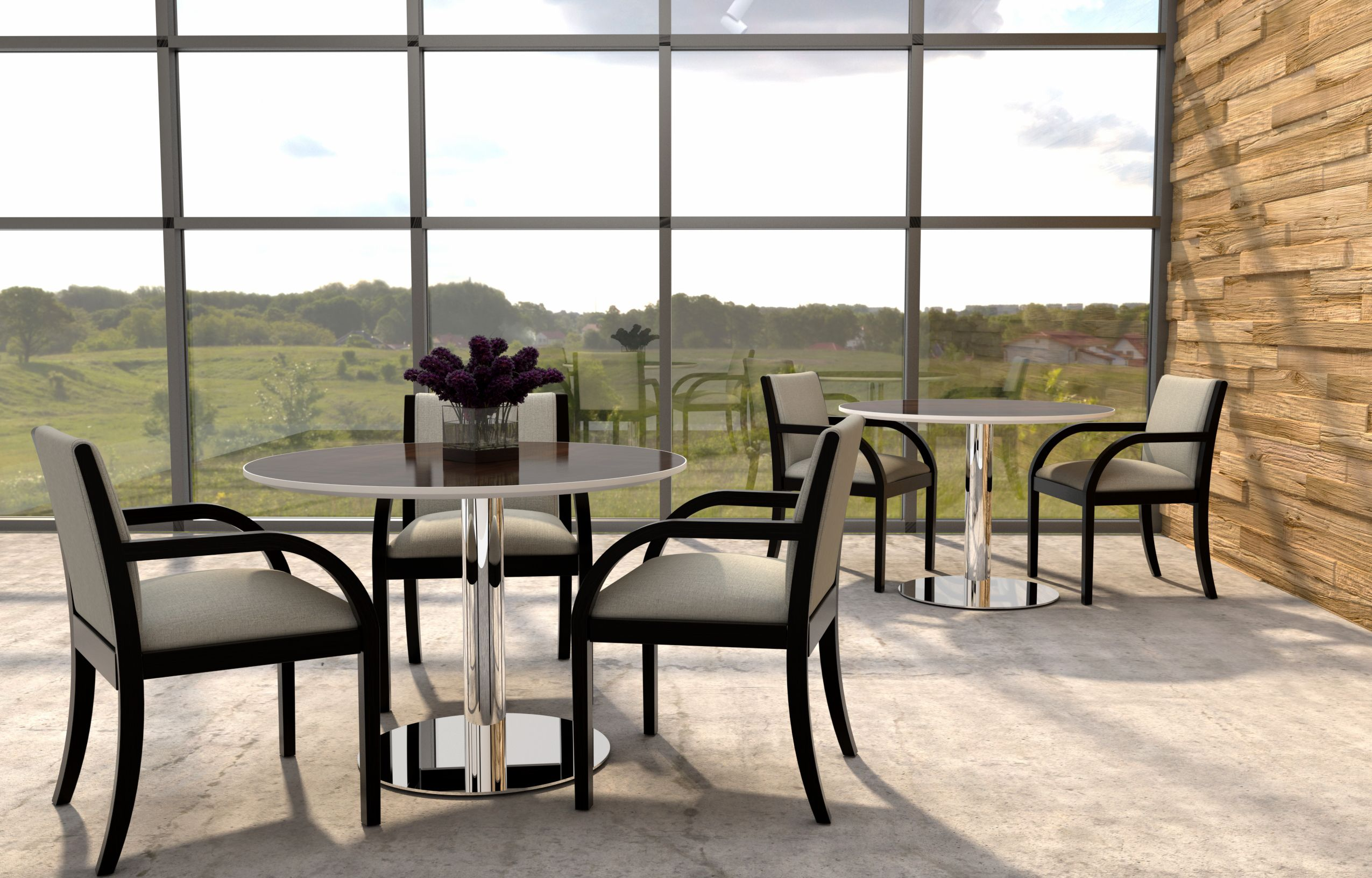 Commercial Dining Room Tables Impressive The Orion Table Collection & The Manhattan Chair  Hickory Decorating Inspiration