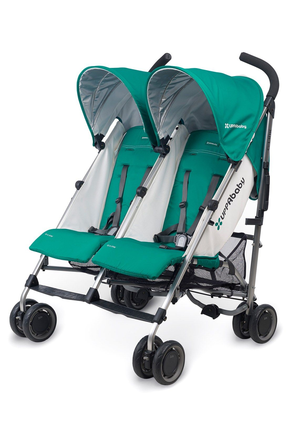 UPPAbaby GLINK Ella Aluminum Frame Reclining Side by Side