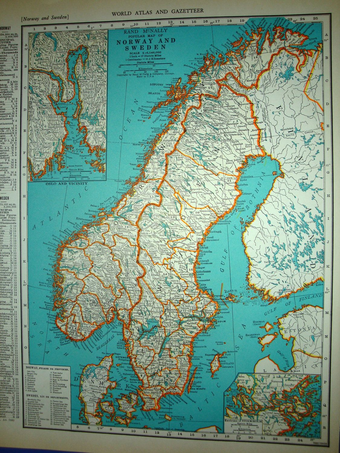 1939 norway sweden atlas map gumiabroncs Gallery