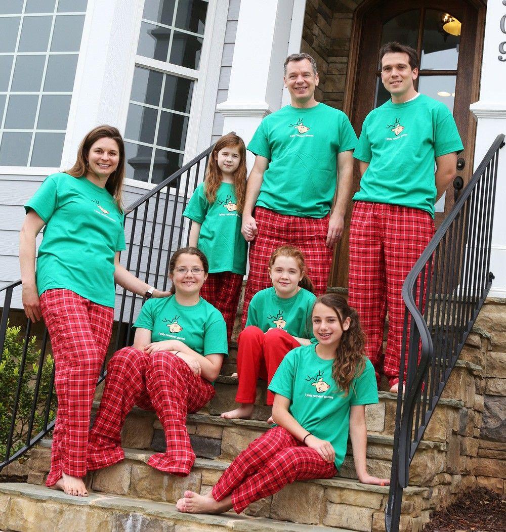 matching family holiday pajamas Matching family holiday