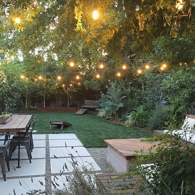 The only thing that gets me through the hot summer days are the cool evenings in our little urban oasis.