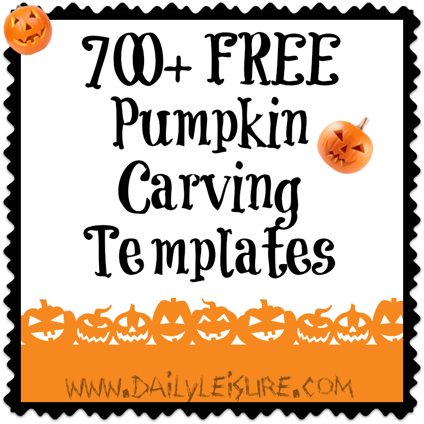 FREE Pumpkin Carving Templates ~ Over 700. Wow I am sure to find ...