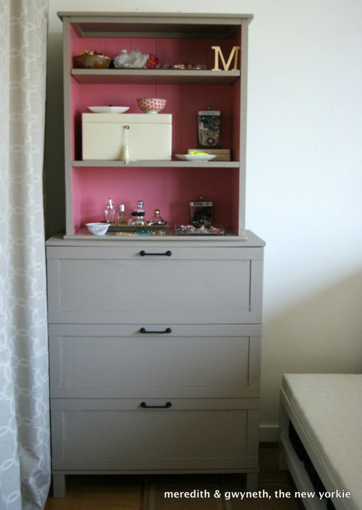 Dresser From Side Of The Road With Bookcase Stacked On Top Great For Small Rooms Creative Home Decor Wallpaper Dresser Creative Home