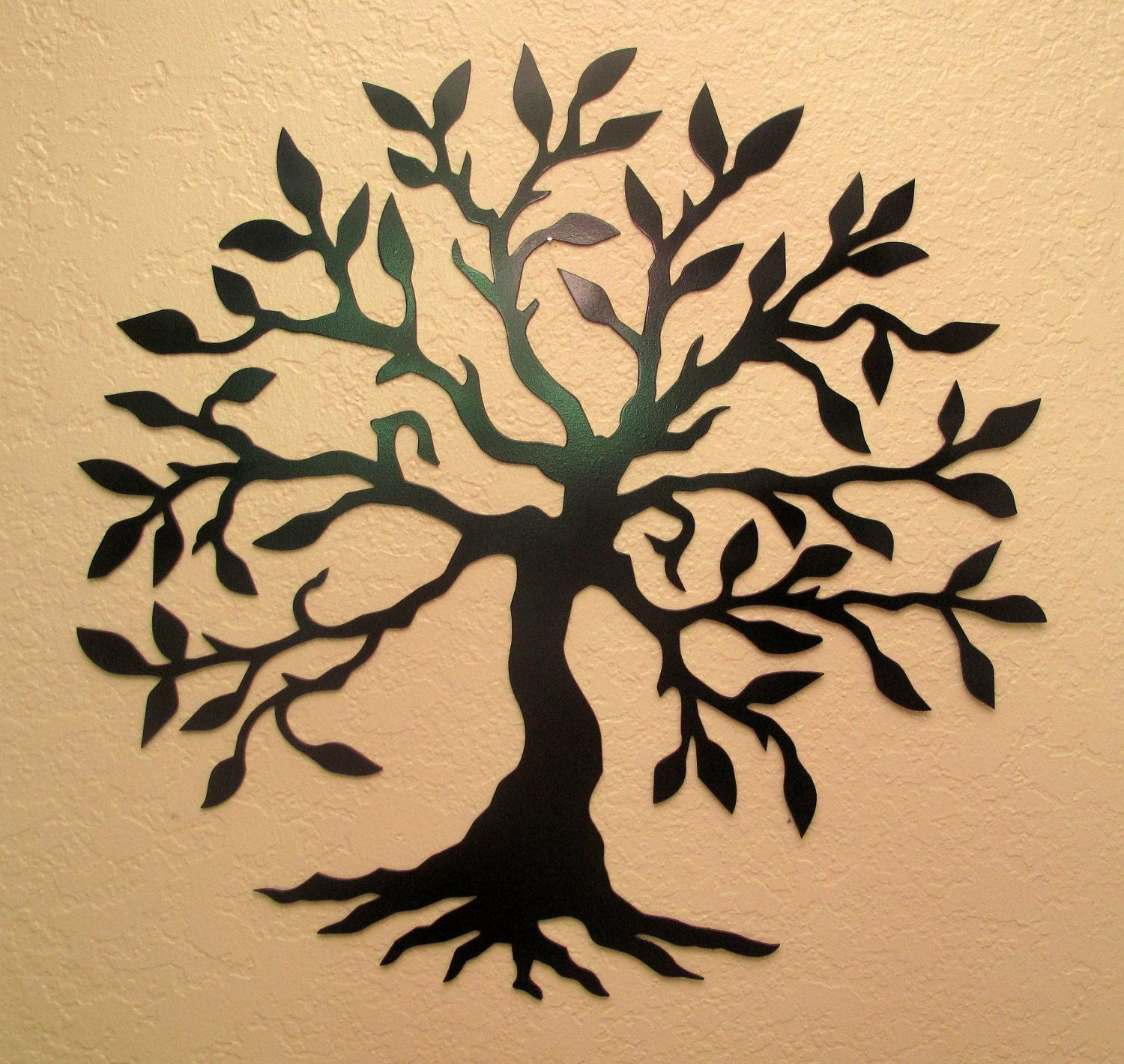 Olive Tree Metal Wall Art. $40.00, via Etsy. | projects ...