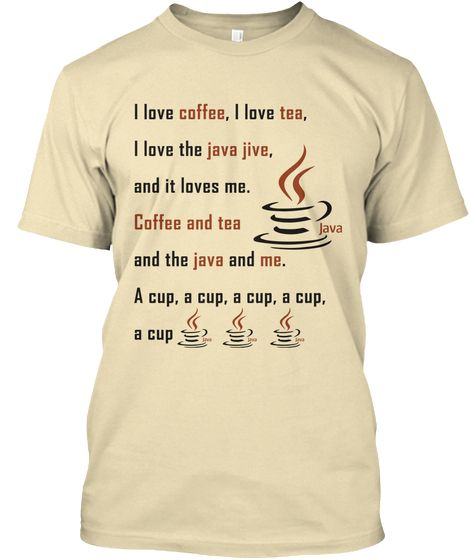 Are You A Java Programmer And Love Manhattan S Java Jive Then This Is Perfect Tee Shirt For You It S Nice To Express That You Love Java Programming Jive Java