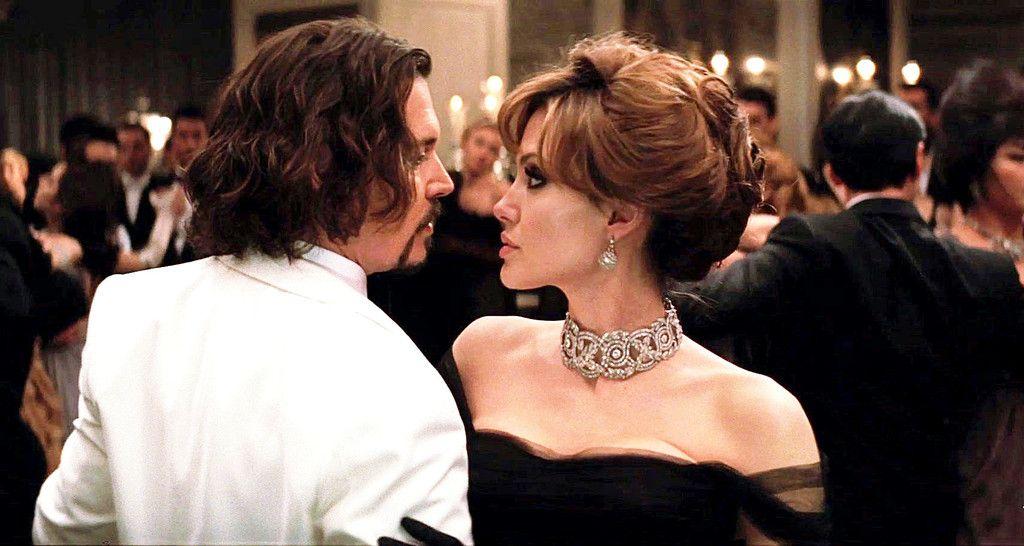 Johnny Depp Angelina Jolie The Tourist The Tourist Movie The Tourist Angelina Jolie Johnny Depp Angelina Jolie