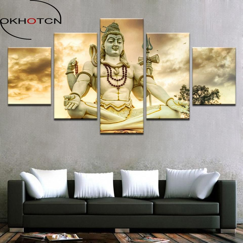 Hd Prints Picture Home Decor Modular Canvas Wall Art Poster Pieces ...