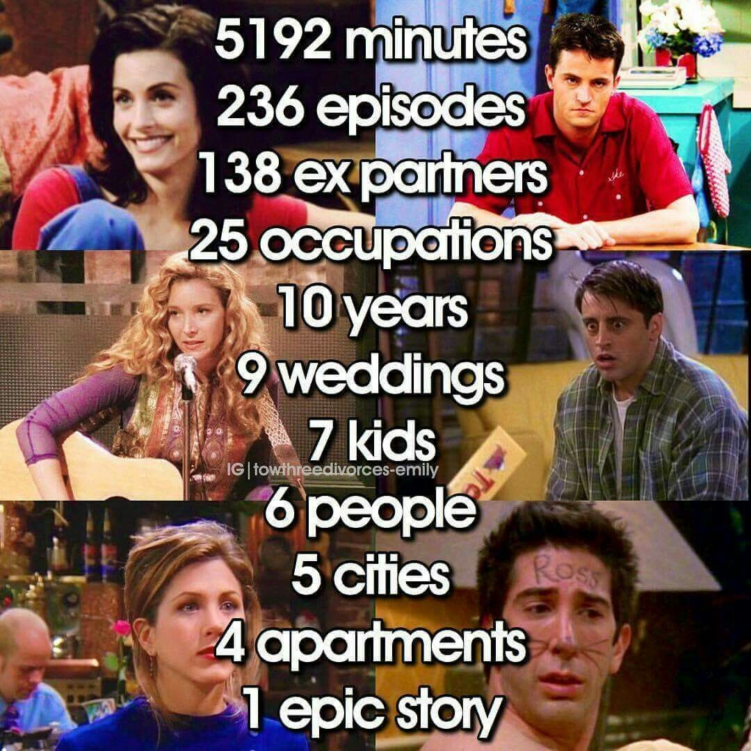 Friends Tv Show Quotes And every second was worth it ❤   | Friends | Friends tv, Friends  Friends Tv Show Quotes