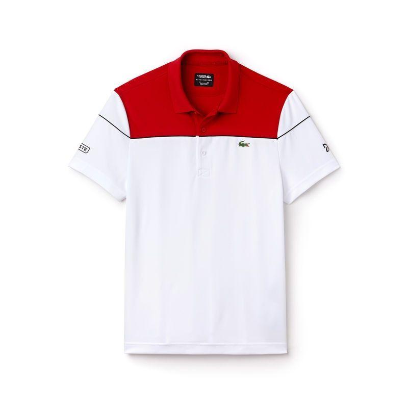 Men S Sport Tech Pique Polo Novak Djokovic Collection Mens Polo T Shirts Tennis Polo Polo