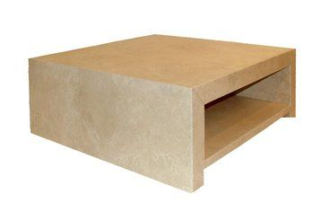 Amazing Make A Statement With The Caravelle Coffee Table In Solid Honed Travertine  Marble. Smooth To