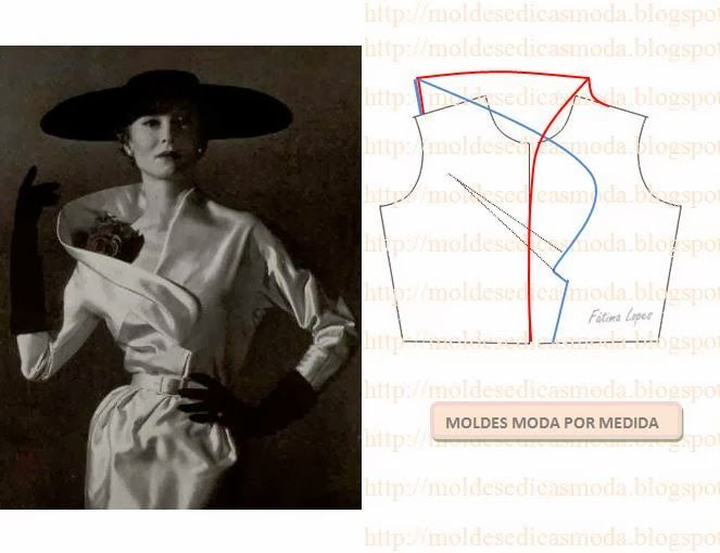 DETALHES DE MODELAÇÃO - 14 - Moldes Moda por Medida