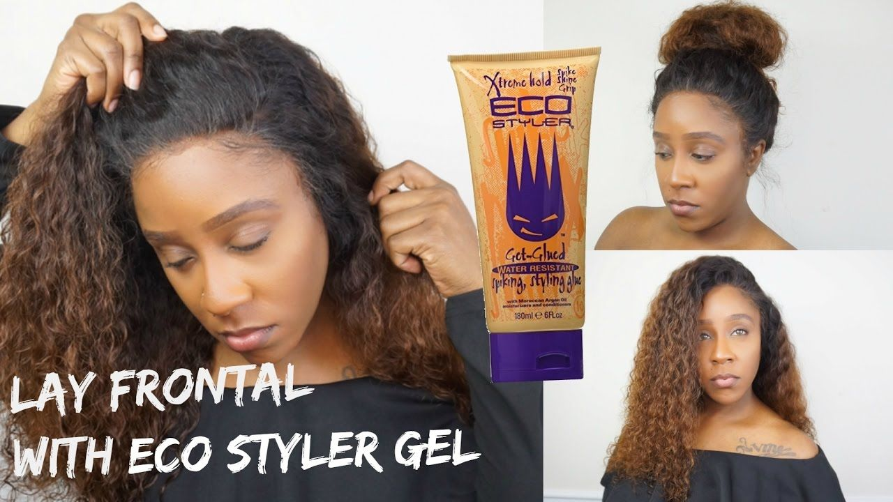 how to install a lace front wig with got2b glued