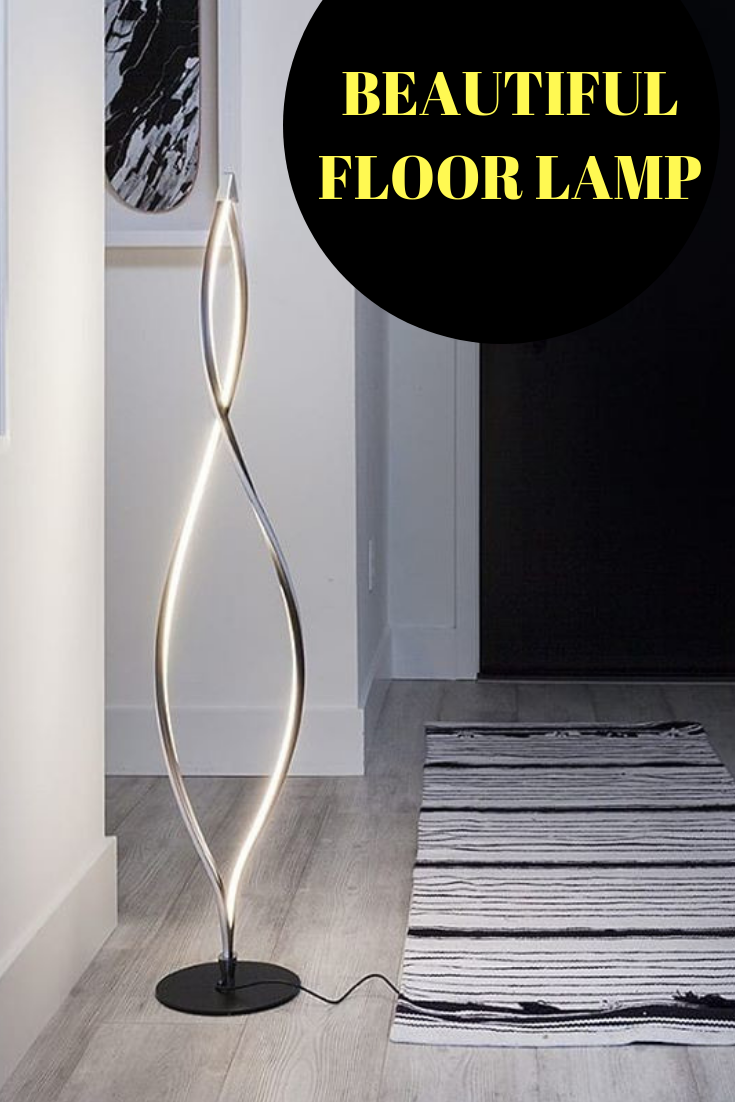 Beautiful Floor Lamp The Unique Modern Style Of The Brightech