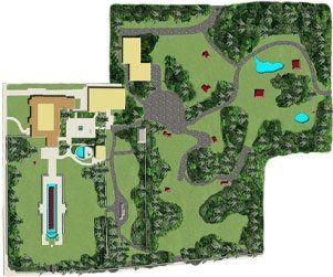 Ansg Grounds Map Ann Norton Sculpture Gardens West Palm