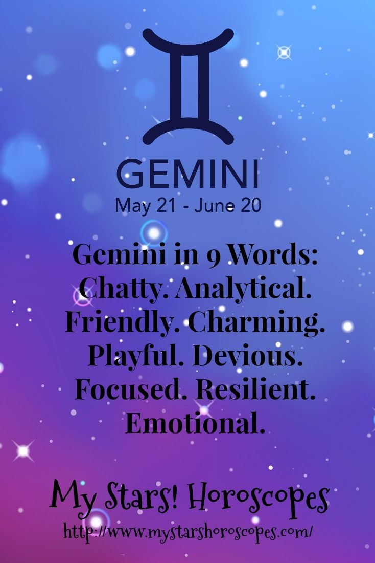 gemini astrology traits and personality