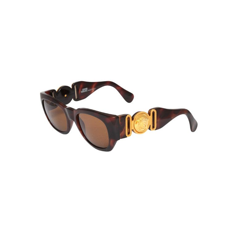 6613b1d3deb6 Gianni Versace Sunglasses Mod 413 A Col Brown