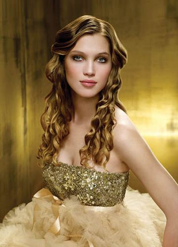 hair styles wedding golden tresses gold gown dresses and gold fashion 7806