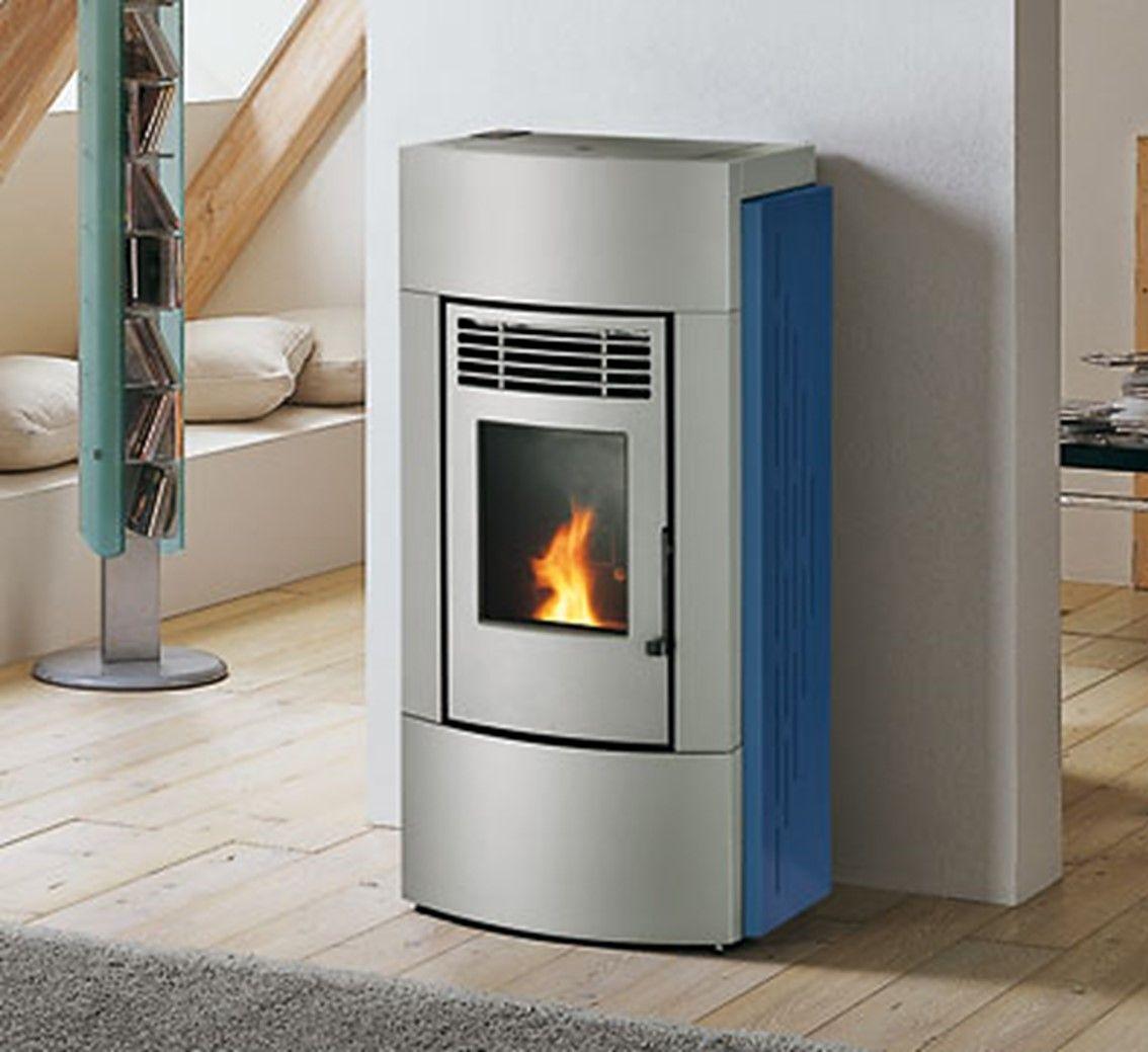 palazzetti silvia wood pellet stove grey wood pellet stoves