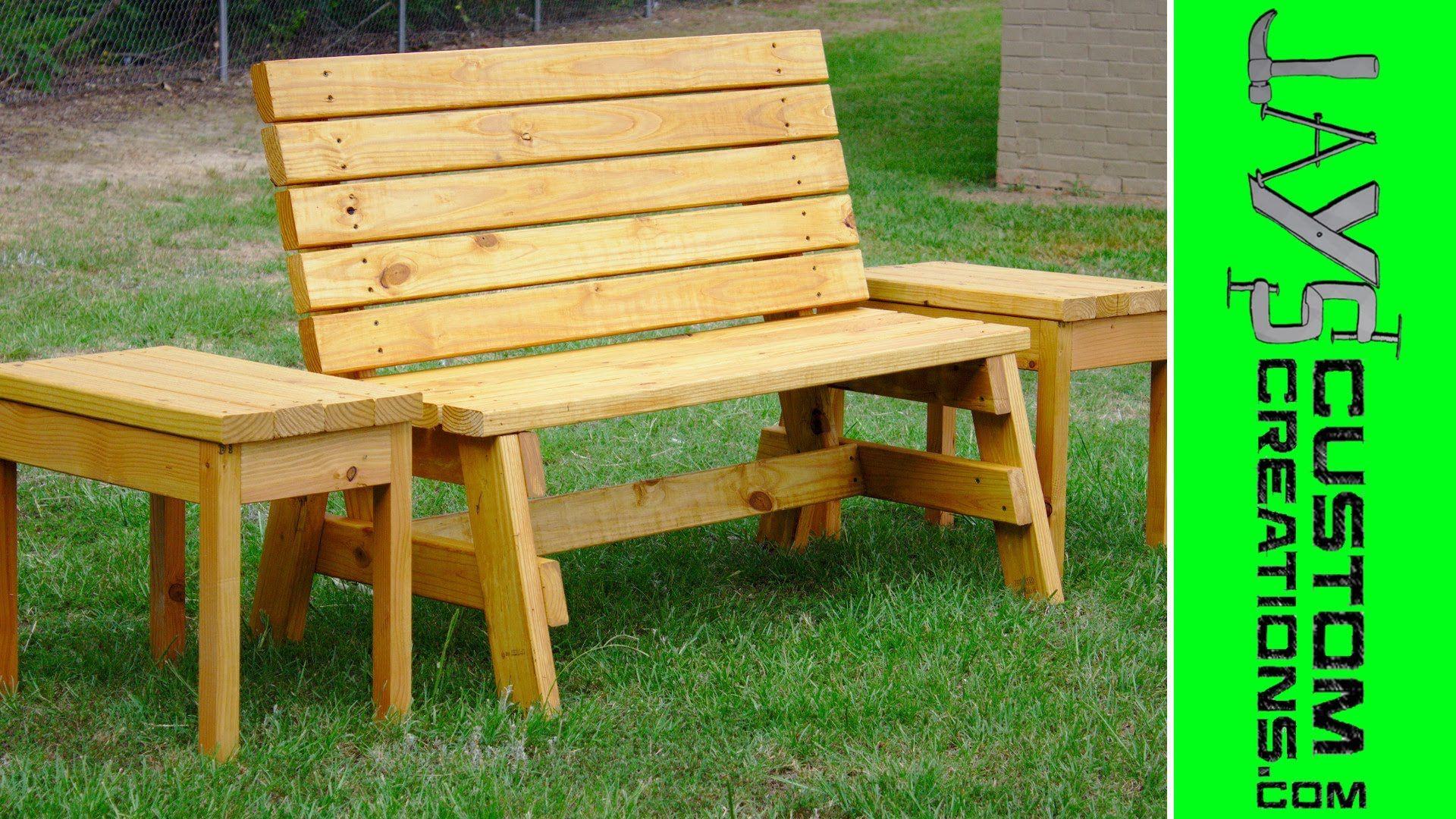 How To Build A Comfortable 2x4 Garden Bench   104