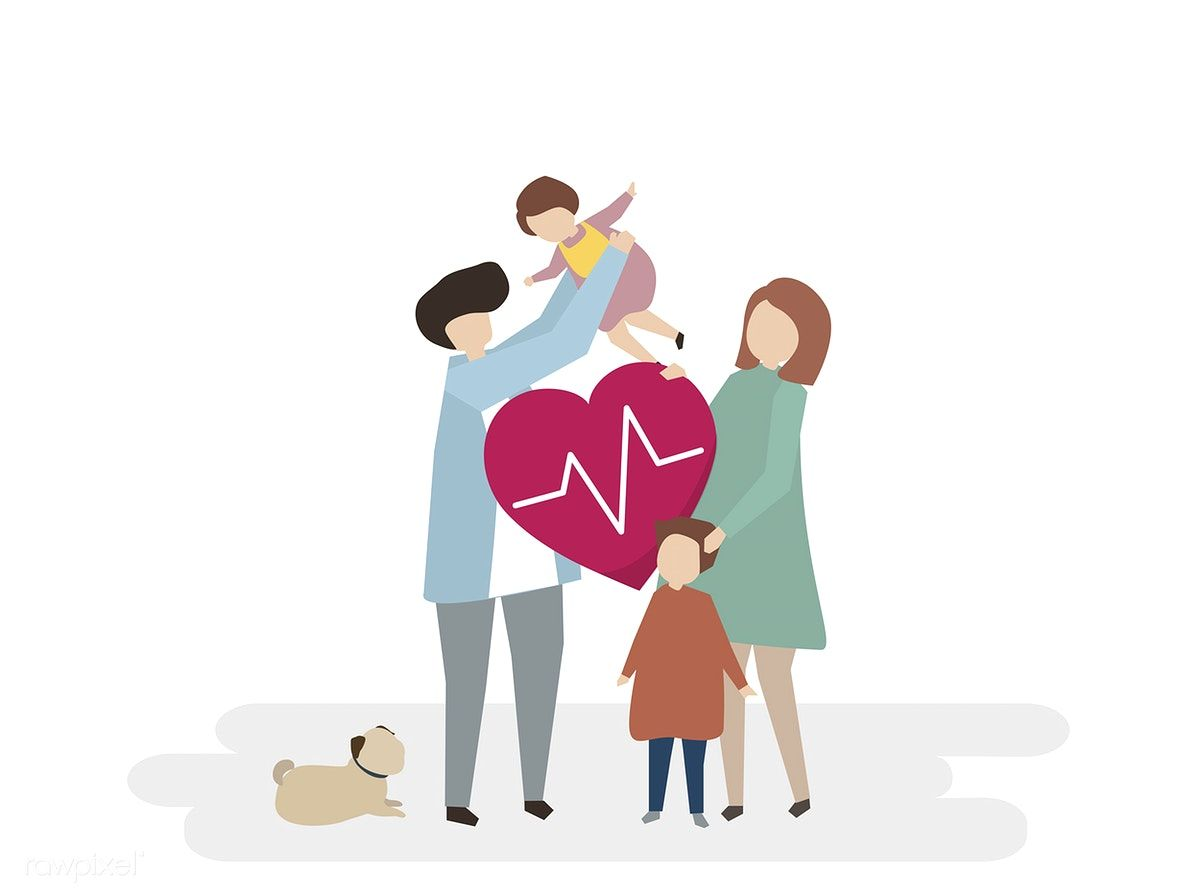 Illustration Of Family Healthcare Free Image By Rawpixel Com