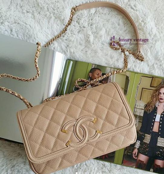 Chanel Cc Filigree Flap 114 Jalan Maarof Bangsar Kl Tel 6 010 220 3384 Monday Saturday10 30am 6 30pm Luxury Vintage Chanel Collection Chanel Brand