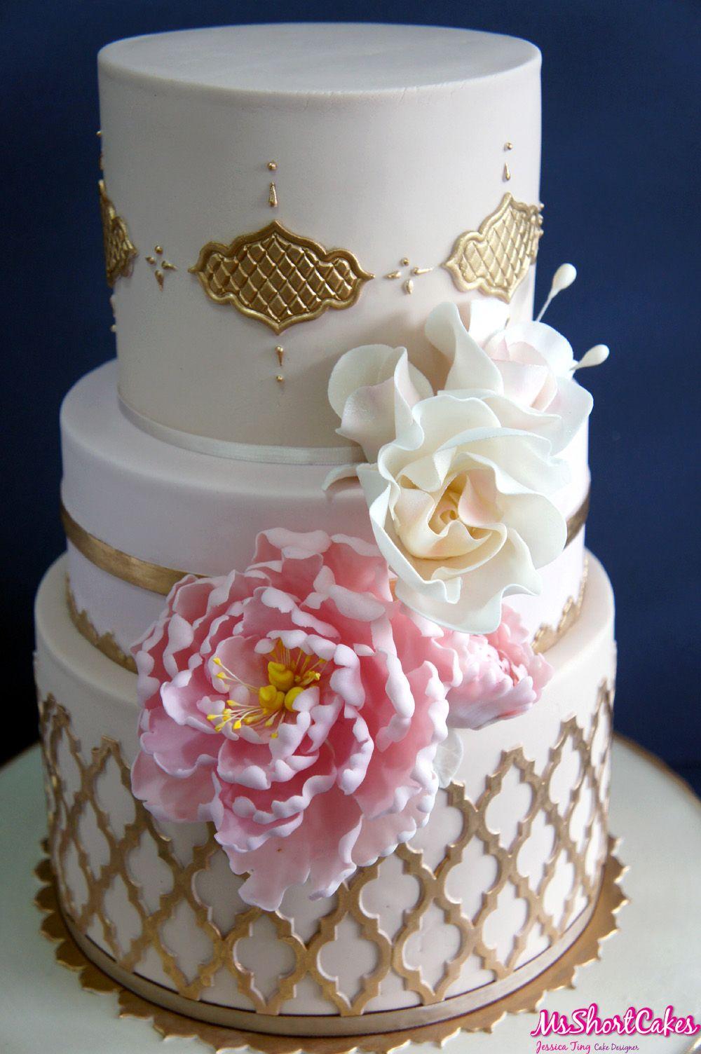 shabby chic bridal shower cakes%0A Arabian themed wedding cake