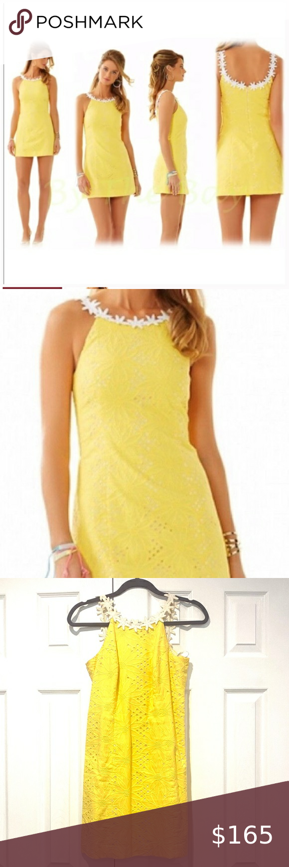 Lilly Pulitzer Annabelle Sunflower Yellow Dress Lilly Pulitzer Sunshine Yellow Sleeveless Dress 00 Gorgeous Dr Yellow Dress Clothes Design Navy And Gold Dress [ 1740 x 580 Pixel ]